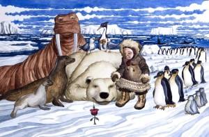 02_el inuit y la flor magica