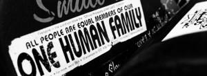 onehumanfamilysticker